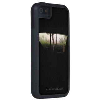 A natureza cura a caixa capas para iPhone 5