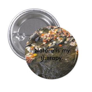 a natureza é minha terapia boton