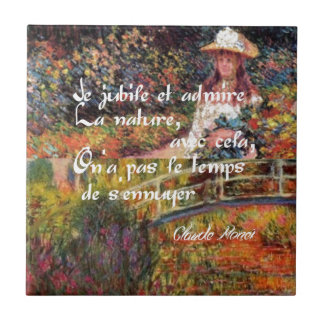 A natureza no art. de Monet
