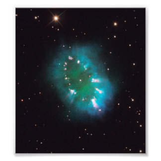 A nebulosa da colar (telescópio de Hubble) Impressão De Foto