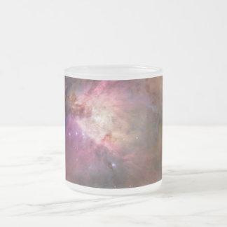 A nebulosa de Orion geou a caneca do vidro de