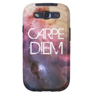 A nebulosa do diem de Carpe stars o espaço do geek Capa Personalizadas Samsung Galaxy S3