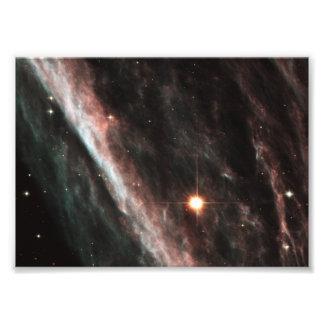 A nebulosa do lápis (NGC 2736) Impressão De Foto