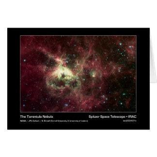 A nebulosa do Tarantula - telescópio espacial de Cartão