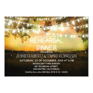 a noite colorida ilumina o convite do jantar de
