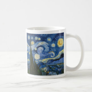 A noite estrelado de Vincent van Gogh Caneca
