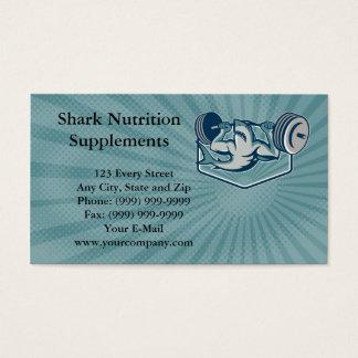 A nutrição do tubarão suplementa o cartão de