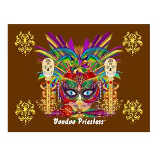 A opinião da sacerdotisa de Mojo do carnaval nota Cartao Postal