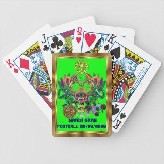 A opinião do rei do dragão do carnaval do futebol baralhos