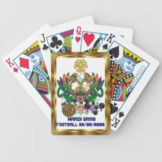 A opinião do rei do dragão do carnaval do futebol baralhos de carta