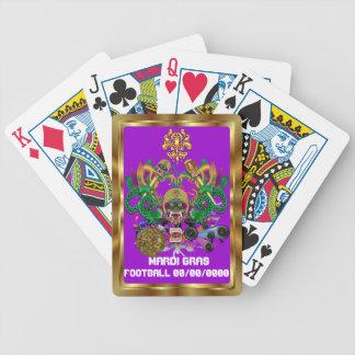 A opinião do rei do dragão do carnaval do futebol cartas de baralho