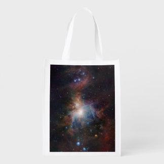 A opinião infravermelha de VISTA da nebulosa de Sacola Reusável