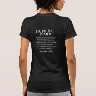 A oração do pitbull camisetas