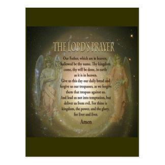 A Oração do senhor Cartão Postal