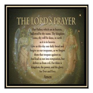 A Oração memorável do convite   do senhor