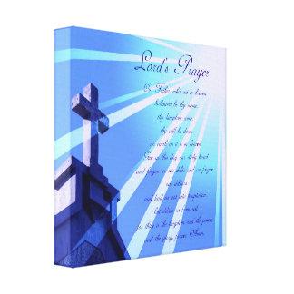 A Oração Projeto Canvas Imprimir do senhor Impressão De Canvas Envolvidas