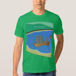 A origem da Ilha de Páscoa dirige a camisa de T Camisetas