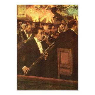A orquestra da ópera desgaseifica perto, convites personalizado