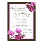 A orquídea cor-de-rosa floresce o chá de panela