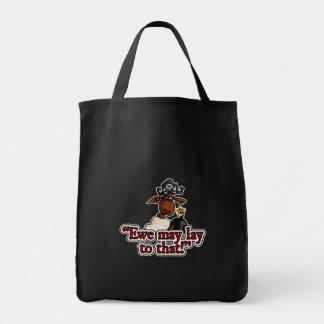 a ovelha pode colocar a esse saco sacola tote de mercado