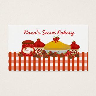 A padaria secreta de Nana Cartão De Visitas