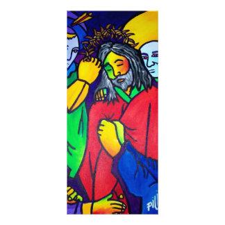 A paixão do cristo por Piliero 10.16 X 22.86cm Panfleto