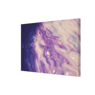 A parede abstrata Arte-Roxa derrama