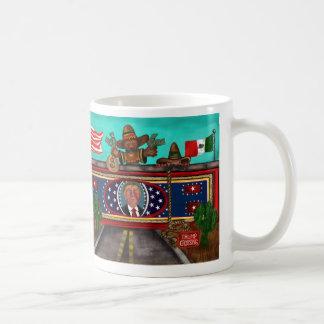 A parede caneca de café