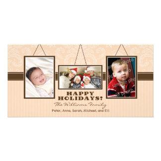 A parede quadro cartões de fotos do feriado da cartão com foto