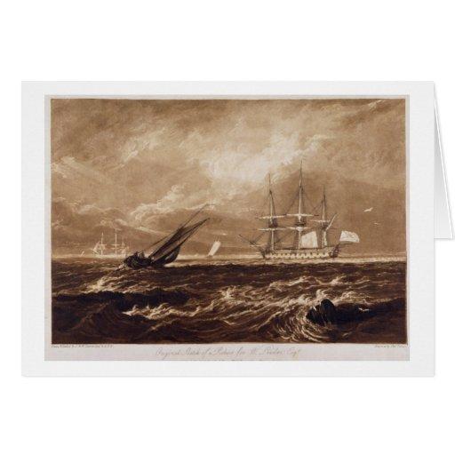 A parte do mar do líder, gravada por Charles Turne Cartoes