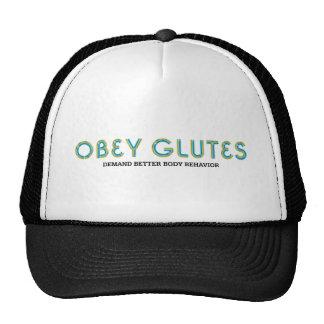 A PARTE SUPERIOR obedece Glutes Boné