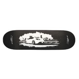 A parte traseira do cupé do Gen disparou com logot Shape De Skate 21,6cm