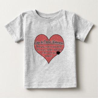 A pata de Cao de Castro Laboreiro imprime o humor Camiseta Para Bebê