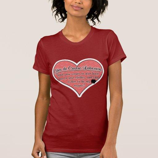 A pata de Cao de Castro Laboreiro imprime o humor Tshirts