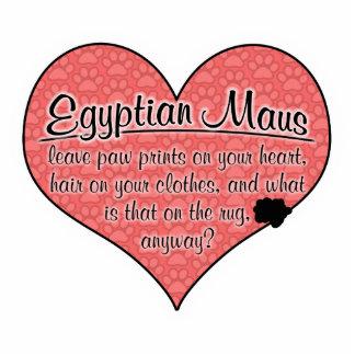 A pata de Mau do egípcio imprime o humor do gato Escultura Foto