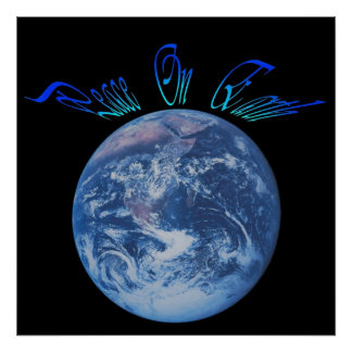 A paz do deus na terra poster