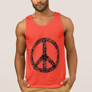 A paz floresce o tanque