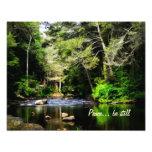 """A """"paz… seja ainda"""" impressão da arte 11x14 fotografia"""