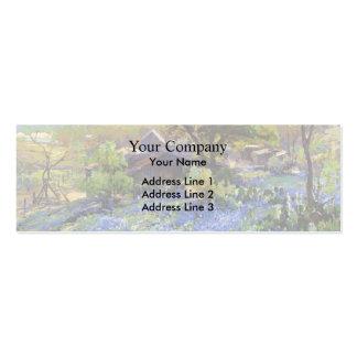 A pedreira por Henri Rousseau Cartão De Visita Skinny