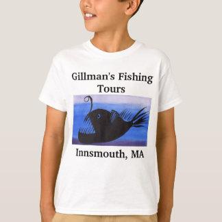 A pesca de Innsmouth visita camisas