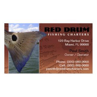 A pesca dos salmonetess freta o cartão de visita