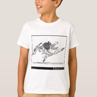 A pessoa idosa de Edward Lear da imagem dos Camiseta