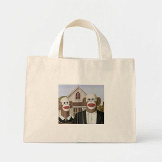 A peúga gótico americana Monkeys o saco Bolsa Tote Mini