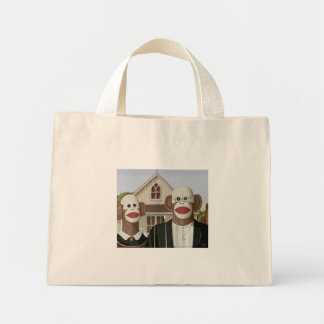 A peúga gótico americana Monkeys o saco Sacola Tote Mini