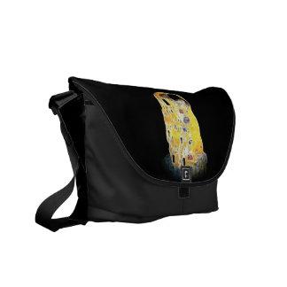 A pintura amarela de Gustavo Klimt Digital do Bolsas Mensageiro