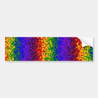 A pintura colorida do arco-íris Splatters a arte a Adesivo