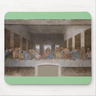 A pintura mural 1490s atrasada de Leonardo da Vinc Mouse Pads