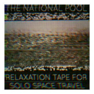 """A piscina nacional - do """"fita abrandamento…"""" poster perfeito"""