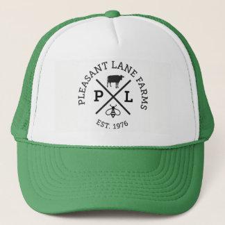 A pista agradável cultiva o chapéu boné