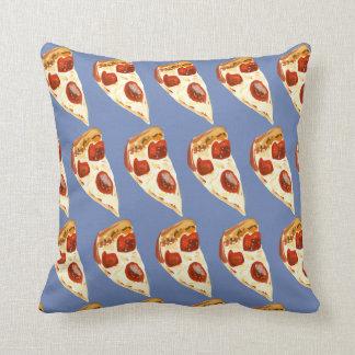 A pizza é minha língua do amor almofada
